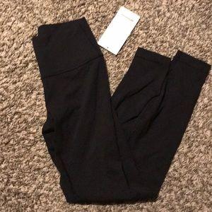 "lululemon athletica Pants & Jumpsuits - Lululemon wunder under luon black 28"""